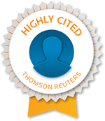 Thomas Reuters Highly Cited Researcher