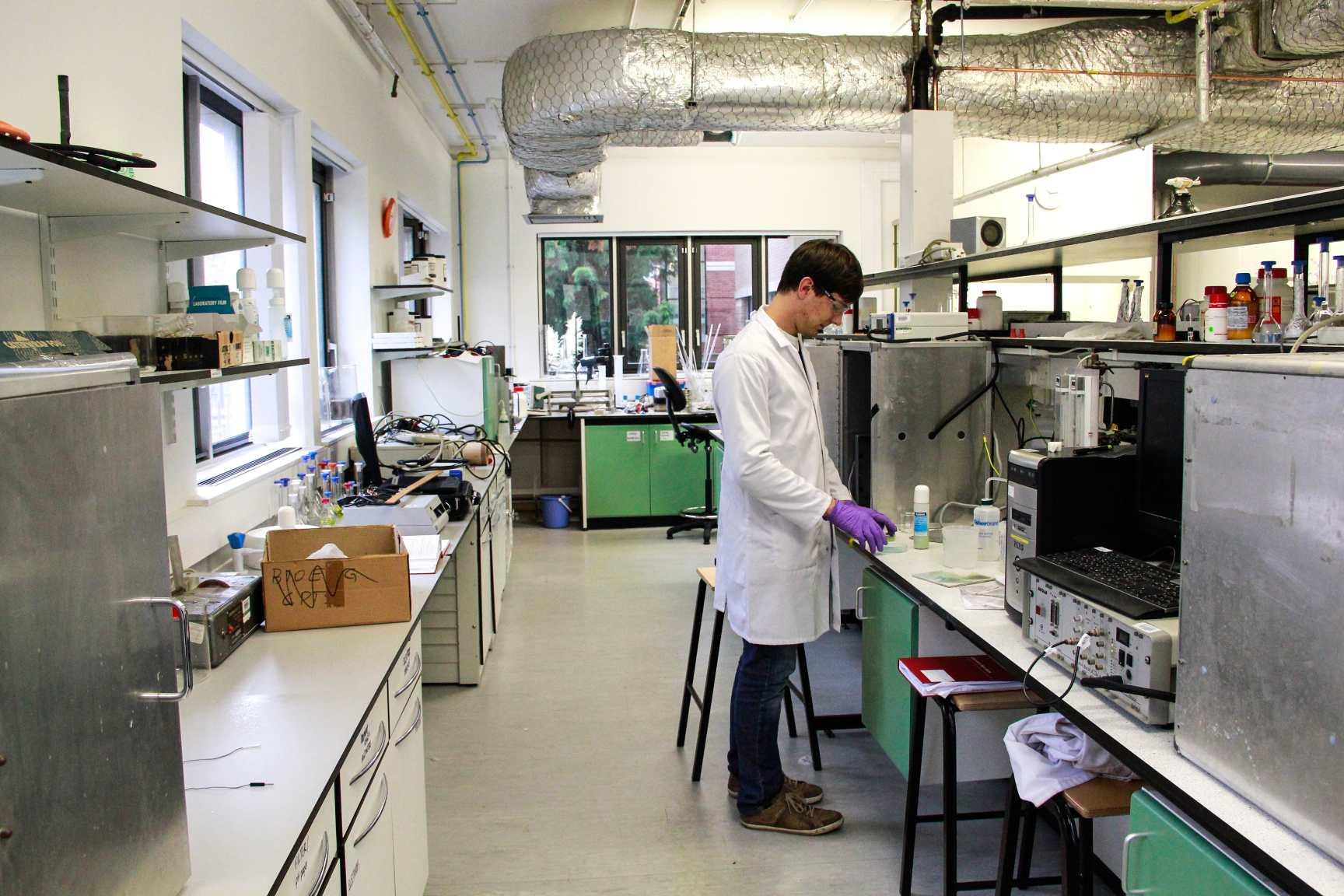 The Compton Group - laboratory
